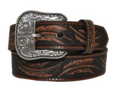 Ariat Feather Embossed Leather Belt