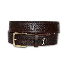 Nocona Mens Brown Basket Money Belt