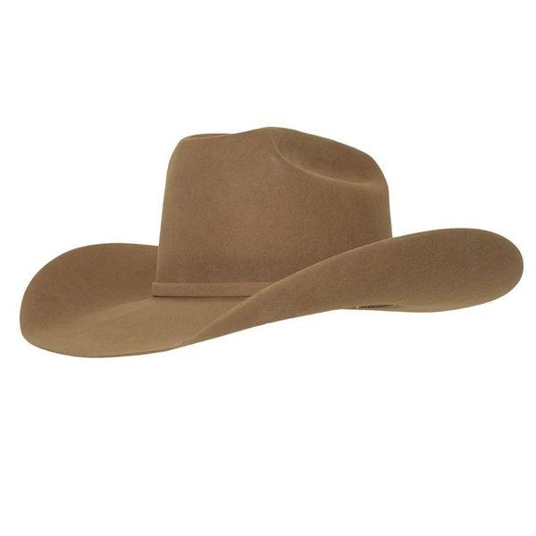 American Hat Company 7X Pecan Felt Cowboy