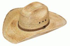 Palm Leaf Western Hat