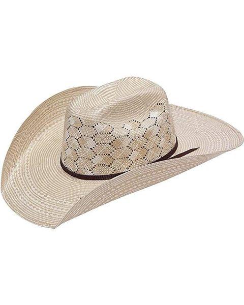 Twister Men's 10X Shantung Straw Cowboy Hat