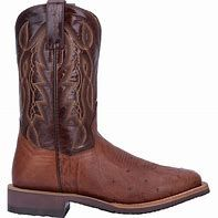 Dan Post Smooth Ostrich Boot