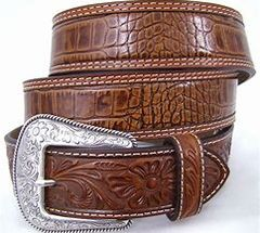 Men's Nocona Belt Gator Print