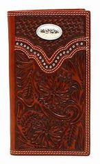 Oval Conch Rodeo Wallet/Checkbook Cover