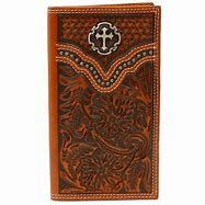 Ariat Cross Conch Rodeo Wallet/Checkbook Cover