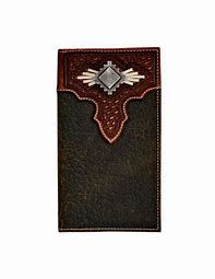 Diamond Conch Rodeo Wallet/Checkbook Cover