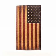 Nocona American Flag Rodeo Wallet/Checkbook Cover