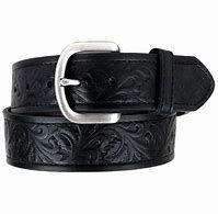 Men's Ariat Belt Leave Pattern Embossed