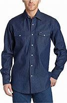 Wrangler Big and Tall Authentic Work Western Shirt