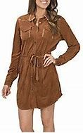 Womens Cowgirl Hardware Western Dress