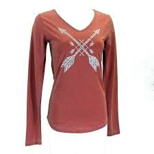Womens Cowgirl Hardware Crossed Arrows Shirt