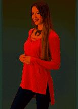 Roper Womens Long Sleeve Tunic
