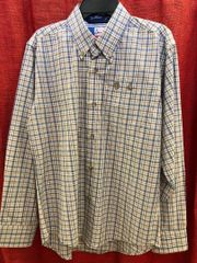 Boys Wrangler George Strait Plaid Shirt