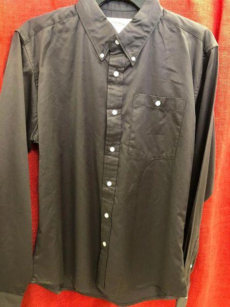 Wrangler Boys Solid Gray 20X Long Sleeve