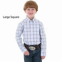 Boys Wrangler George Strait Cowboy Cut Collection Long Sleeve