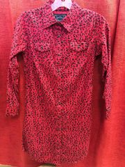 Girls Cowgirl Hardware Cheetah Dress