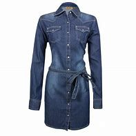 Girls Wrangler Long Sleeve Denim Dress