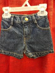Infant and Toddlers Denim Shorts
