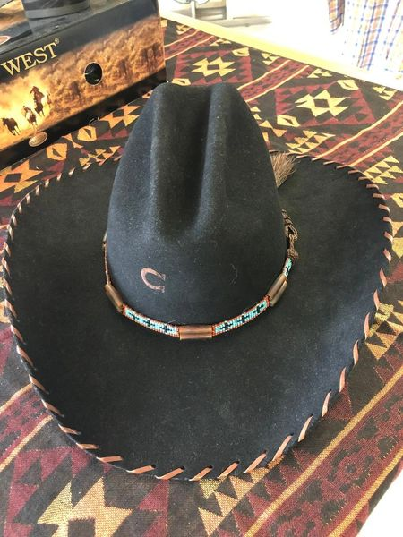 Zuni Cowboy Hat by Charlie 1 Horse