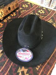 Black 40X American Hat