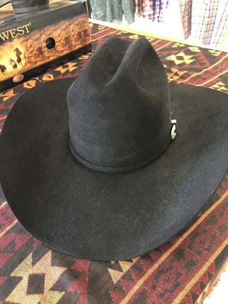 Black 7X American Hat