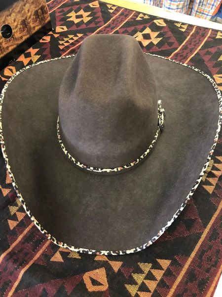 Atwood 4X Chocolate and Leopard Hat