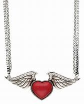 Winged Jasper Heart Necklace