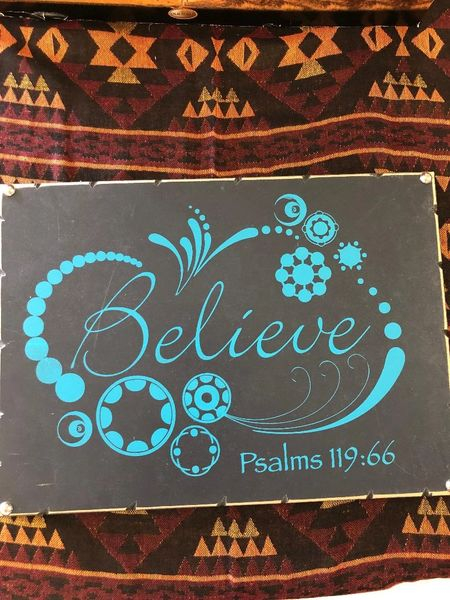 Believe Design Wall Art