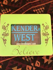 Green Believe Picture Frame