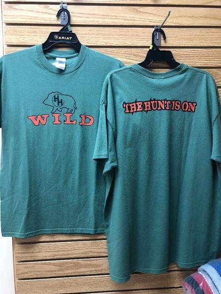 Mens Cowboy Hardware Hog Wild T Shirt