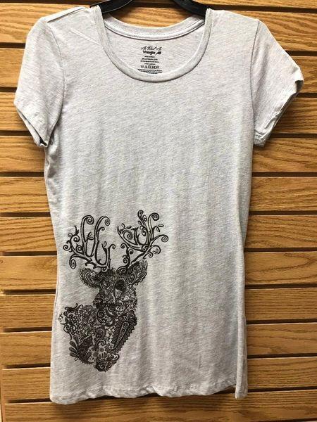 Wrangler Ladies Paisley Deer Head Shirt