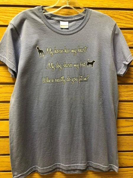 "Womens ""My Horse"" T Shirt"