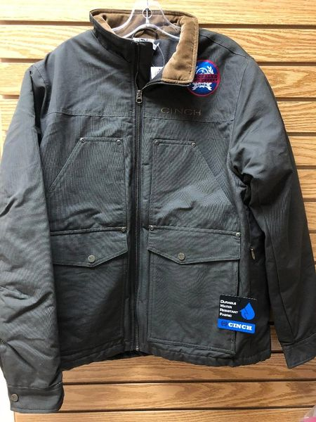 Mens Cinch Concealed Carry Zip Pocket Jacket