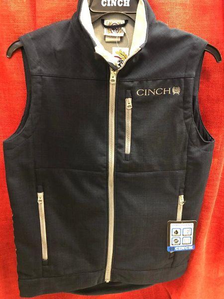 Mens Cinch Navy Vest