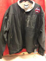Mens Black Cinch Concealed Carry Jacket