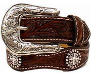 Ariat Girls Scalloped Belt With Round Conchos