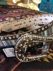 Ladies Angel Ranch Multi Color Belt
