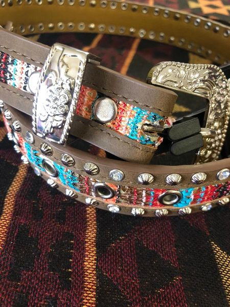 Girls Angel Ranch Multi Color Belt