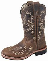 Girls Smoky Mountain Brown Floral Boot