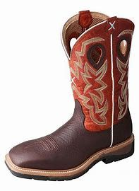 Twisted X Work Steel Toe Lite Cowboy Work Boot