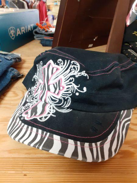 Ladies Zebra Cap