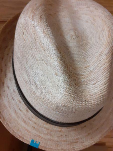 Tan Short Brim Hat