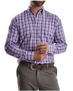Wrangler Riata Purple Plaid