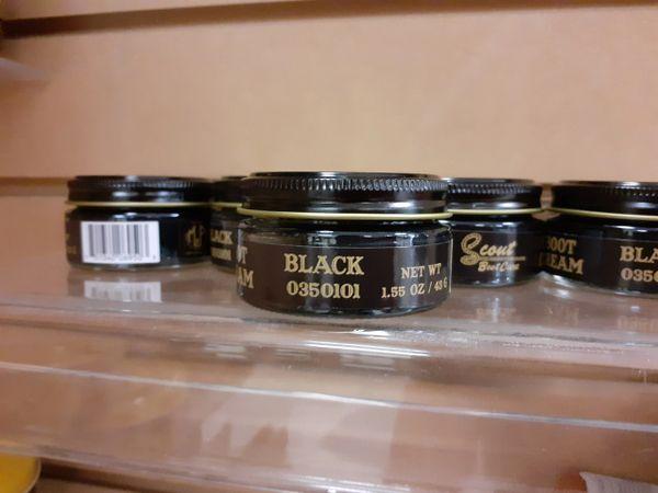 Black Boot Cream