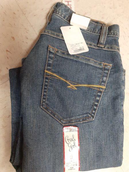 Womens Georgia Cruel Slim Jeans
