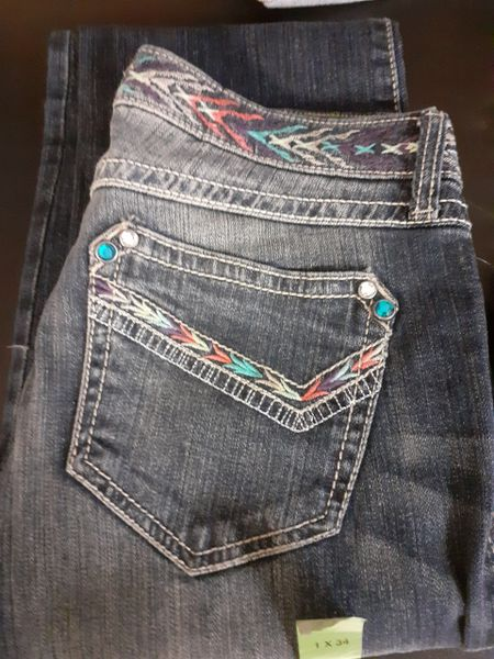 Womens Denim Wrangler Jeans