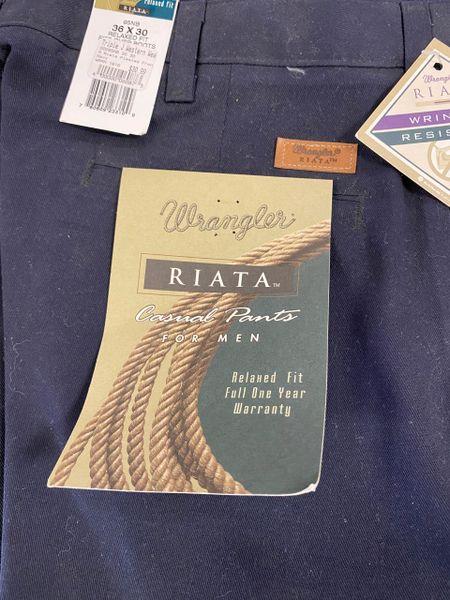 Men's Riata Navy Dress Pants