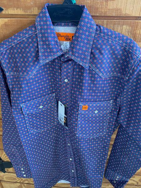 Men's FR L/S Dark Blue Shirt