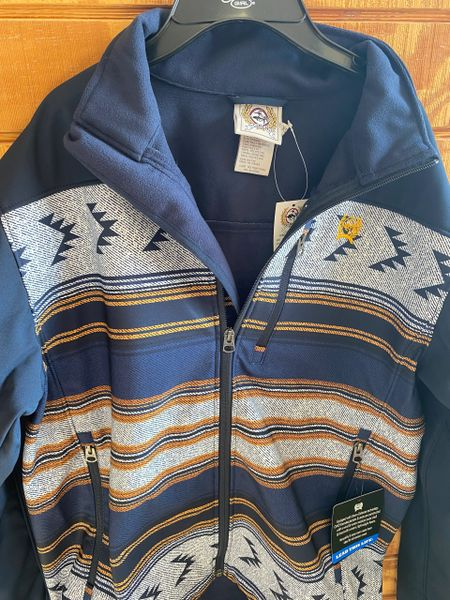 Men's Logo Embroidery Cinch Jacket