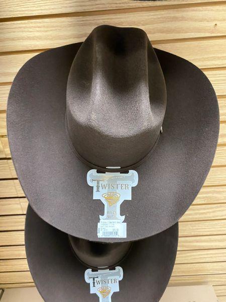 Men's Twister Brown Felt Hat